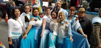 Así se vivió Desfile de la Hispanidad con argentinos en New York