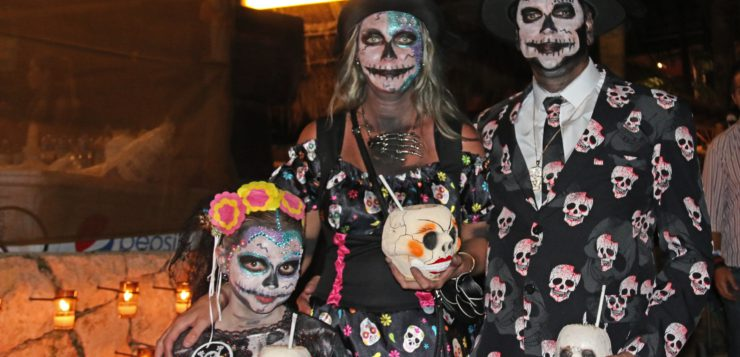 Así se vivió Halloween en Playa del Carmen – México